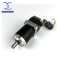 2 phase 4 wire Gear ratio 198:1 Planetary Gearbox stepper motor Nema 23 2.8A Geared Stepper Motor 3d printer stepper motor