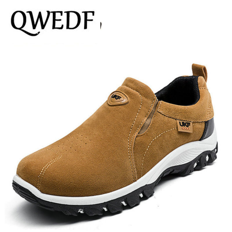 QWEDF 2018 Fashion Comfortable Casual Shoes Loafers Men
