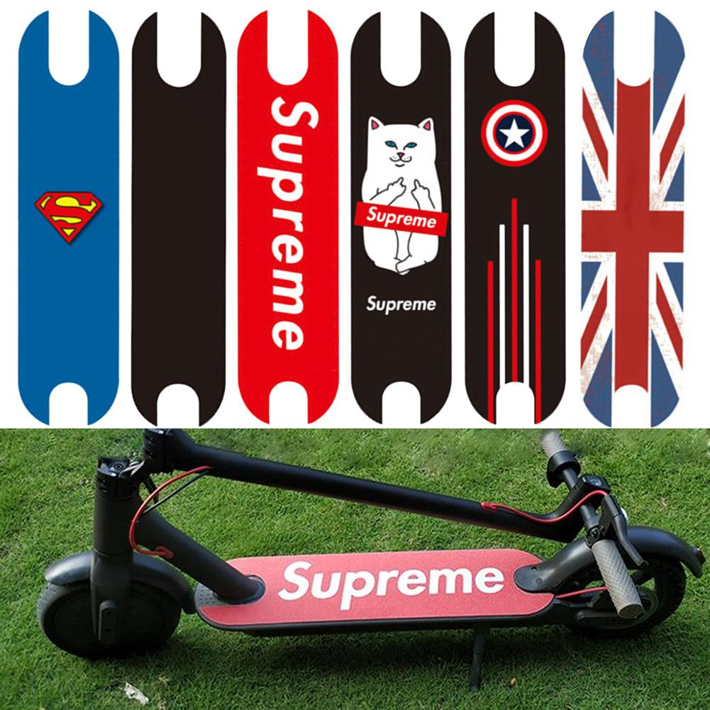 For MI Mijia M365 Scooter Accessories Pedal Matte Pad Stickers Waterproof Sunscreen Personality Sandpaper Accessories(China)
