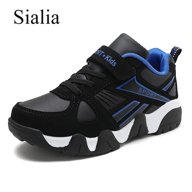Sialia Sport Children Casual Shoes For Kids Sneakers Boys Shoes Girls Sneakers Leather Autumn Winter Cotton Fabric Footwear 2019