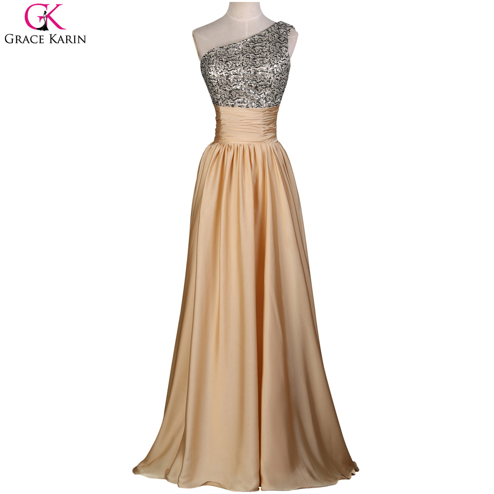 Grace Karin Evening Dresses Long Elegant Formal Gowns Satin Events ...