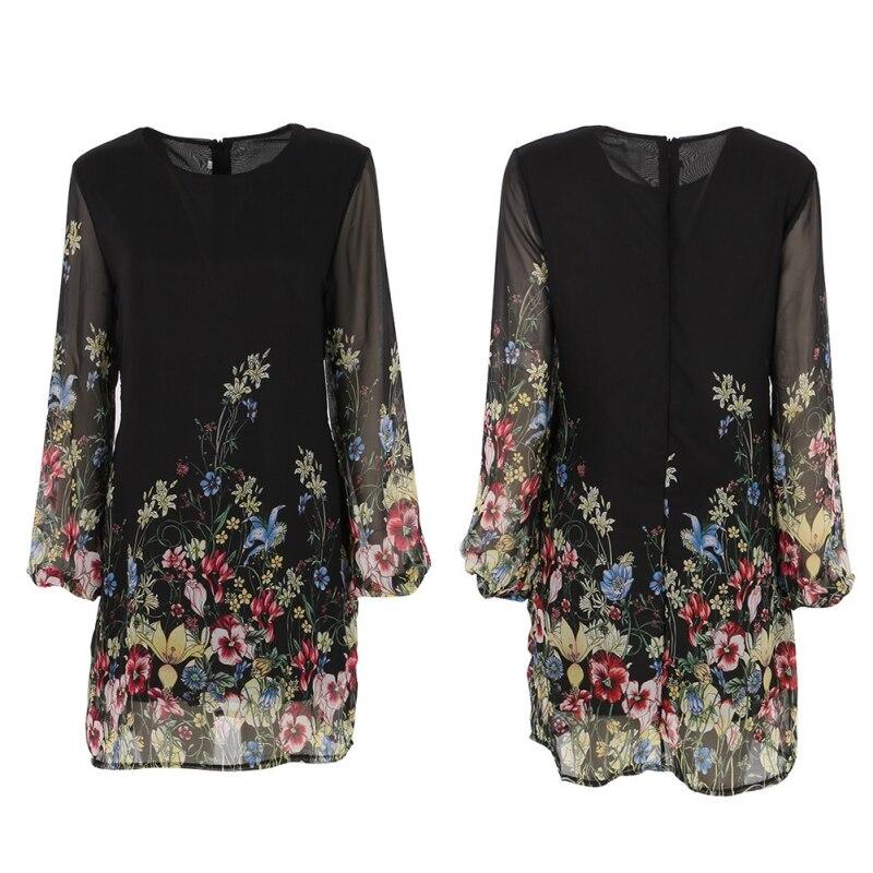 百思买 ) }}2017 Fashion Casual Femininos Crochet Floral Lace Embroidery Dresses Sheer Boho Dresses
