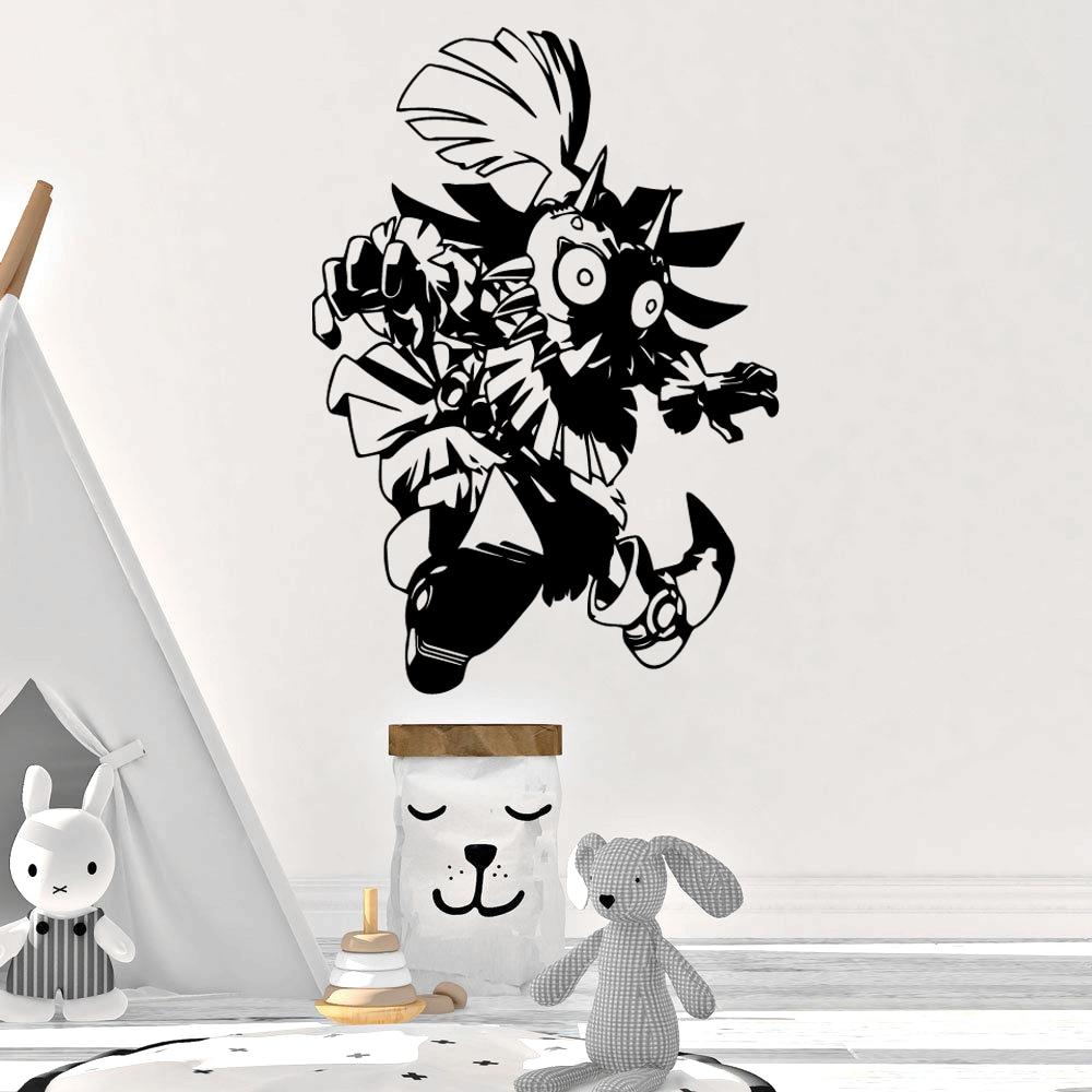 Legend of Zelda engraçados Adesivos de Parede Personalizado Criativo Para Kids Room Sala de estar Casa Decoração Wall Art Vinyl Decal Stickers