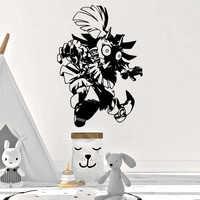 Divertente Legend of Zelda Adesivi Da Parete Creativa e Personalizzata Per La Camera Dei Bambini Soggiorno Complementi Arredo Casa Della Parete Della Decalcomania di Arte Adesivi In Vinile