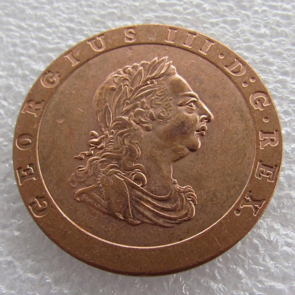 1797 cartwheel two pence coin