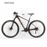 2016 New Full Carbon 29er Mountain Complete Bike 15 5 16 5 17 5 19 Carbon