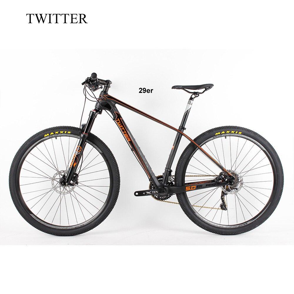 2018 Carbon mtb 29er Mountain Bike 15.5'' 16.5 17.5''19 carbon mtb Bicycle 29 Bicicletas mountain bike 2018 anima 27 5 carbon mountain bike with slx aluminium wheels 33 speed hydraulic disc brake 650b mtb bicycle