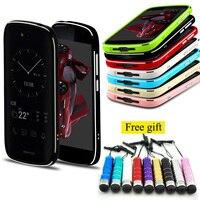 For Yotaphone2 Case Luxury High Light Aluminium Metal Bumper Cover Frame Case For Yota Phone 2