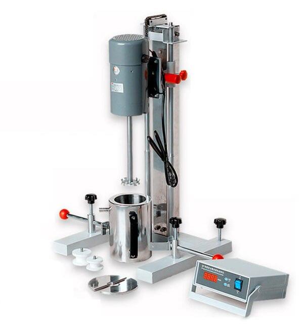 Standard di Laboratorio Miscelatore Ad Alta Velocità disperdere della miscela grind uso di Laboratorio Fresatura dispersione Disperser macchina mezzo Fluido materiale