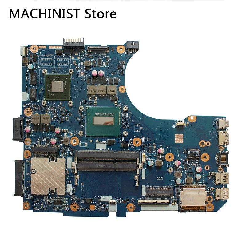 For ASUS G551JM N551J N551JM N551JW N551JW N551JQ N551JX N551JK REV 2.1 I7-4720HQ laptop notebook motherboard GT940M For ASUS G551JM N551J N551JM N551JW N551JW N551JQ N551JX N551JK REV 2.1 I7-4720HQ laptop notebook motherboard GT940M