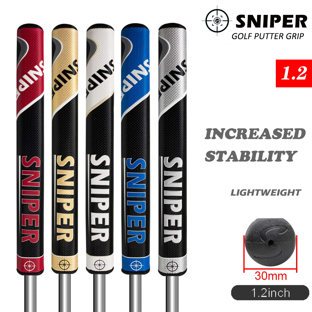 SNIPER golf putter grips PU High quality 5colors golf grips 1 2inch four size 10pcs set