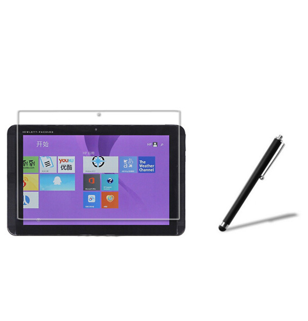 Matte Screen Protector Films Anti-Glare Protective Matted Film Guards + Stylus For HP Pavilion X2 10 J014TU J025TU Tablet PC