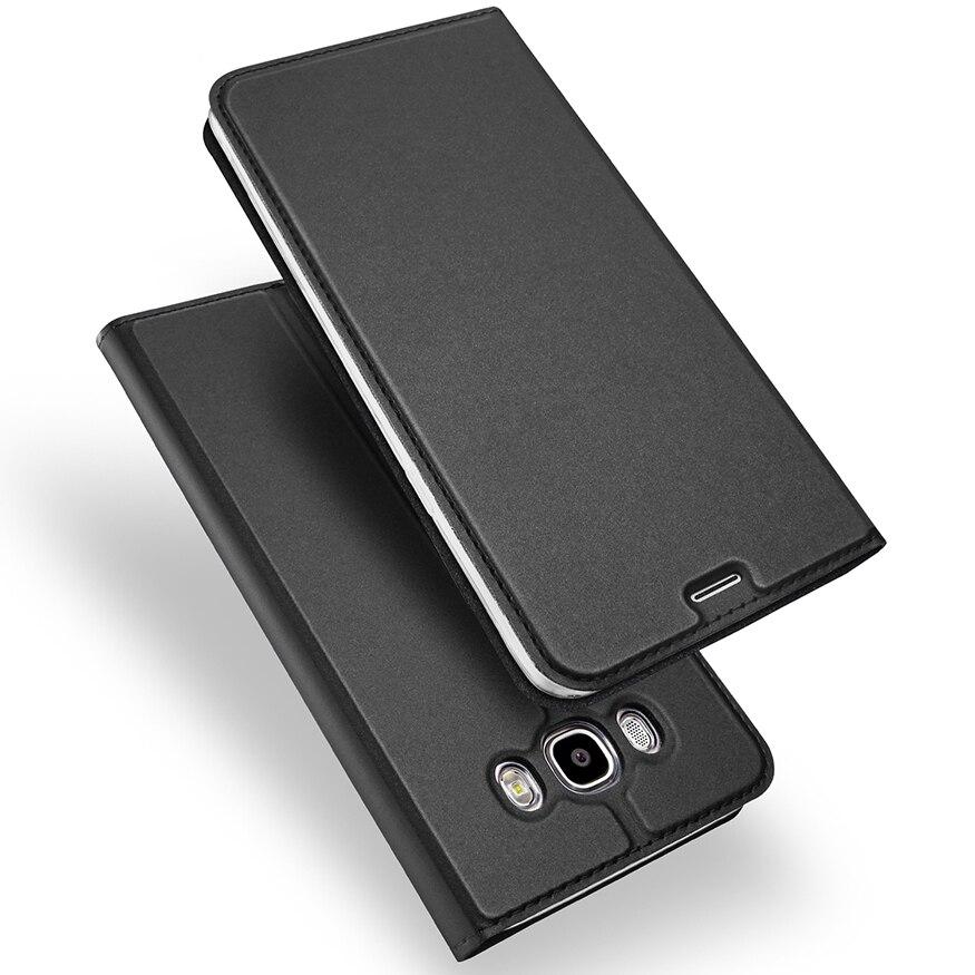 De luxe Flip PU Étui En Cuir Pour Samsung Galaxy J5 2016 Cas J7 2016 Couverture de Téléphone Pour Samsung J7 2016 Coque Samsung J5 2016 Cas