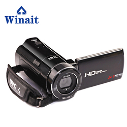 Winait 1080P Digital Video Camera 3.0 Rotatable LCD Screen Camcorder 16x Digital Zoom with 37mm 0.45x Wide Angle Lens