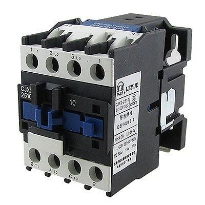цена на CJX2-2510 660V Ui NO 3 Poles AC Contactor 380V 50/60Hz 25A Uhpul