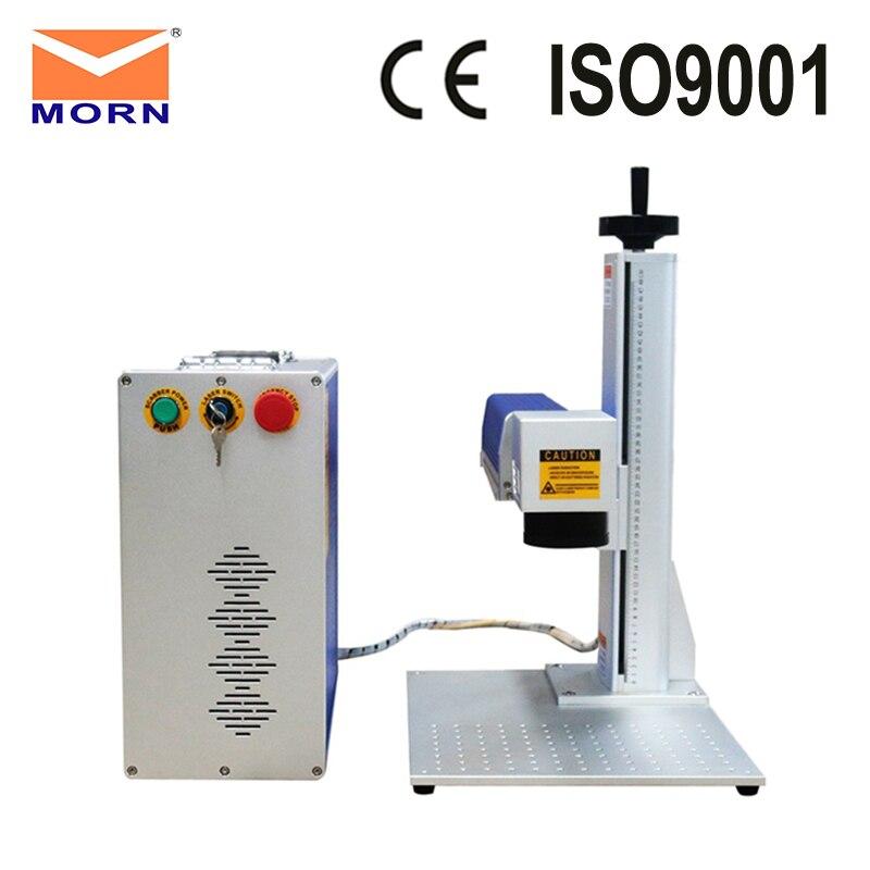 30w Fiber Laser Marking Machine CAS Laser Easy Operation Marking Ceramics Laser Engraver/marker Gold Silver
