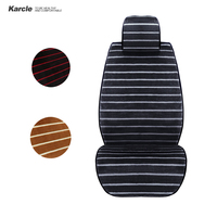 Karcle Universal 1PCS Car Seat Covers Sofe Velvet Warm Driver Protector Plush Seat Cushion Winter Car styling Auto Accessories