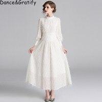 High Quality White Tassel Feathers Bohemian Holiday Dress Women Elegant Fashion Beach Party Dress Lady Clothing