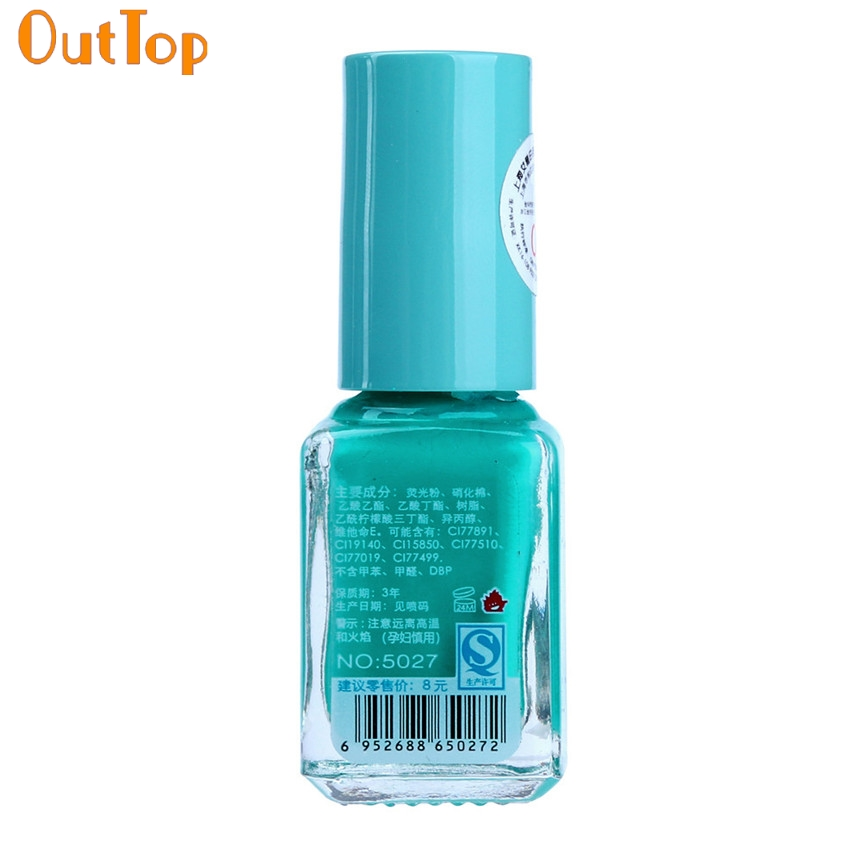 OutTop Nail Polish 20 Color Fluorescent Neon Luminous Gel Nail Art ...