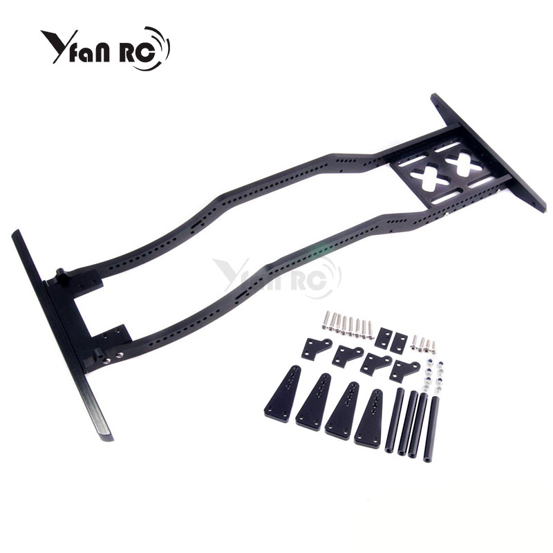 RC Car High Quality Metal Defender Frame Set for 1 10 Axial SCX10 D90 JK Model