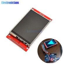 3,2 zoll 320*240 TFT LCD Modul Display mit Touch Panel Fahrer IC ILI9341 240(RGB)* 320 Spi-schnittstelle (9 IO) für MCU