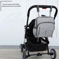 Multi function Mummy Moederschap Luiertas grote Capaciteit Mode Baby Carrier Rugzak Voor Zuigelingen Peuters Dropshipping 1