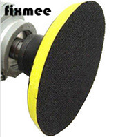 Fixmee NEW 150mm angle grinder sander polishing buffing bonnet polisher buffer wheel pad disc disk axle dia M14 10pcs lot polishing pad with velcro 125mm 5 thread m10 sanding disc polish pad for electric polisher air angle grinder