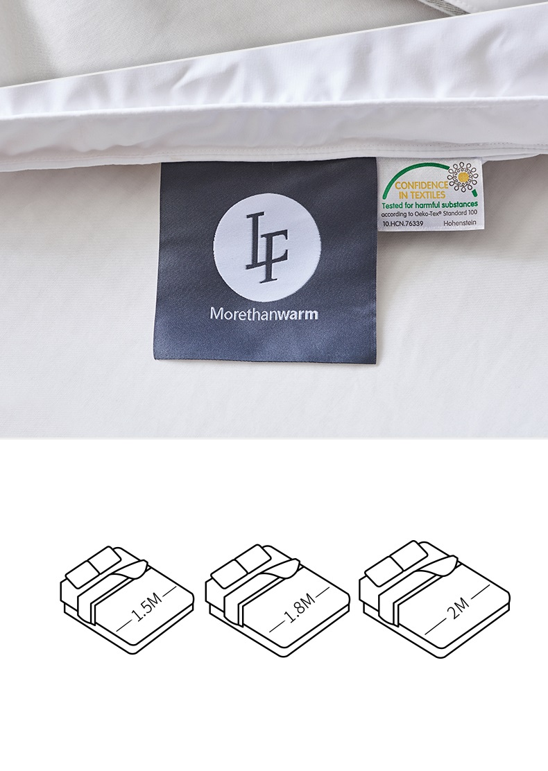 hotel 100 goose down mattress protecter Down on Top Feather bed mattress topper duck down feather mattress pad