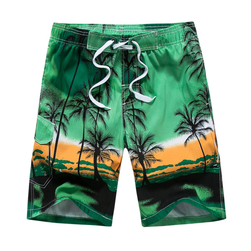 Vertvie Men's Beach   Shorts   Summer Quick Dry Male   Shorts   Swimsuits Swimwear   Board   Boxer Trunks For Male Plus Size Men Beachwear