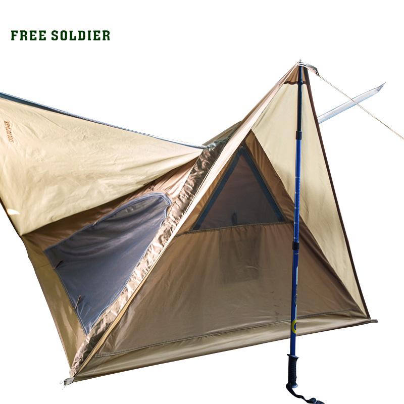 FREE SOLDIER Outdoor Sports C&ing Hiking Tent  sc 1 st  TheFishingC&.Com : tent outdoor - memphite.com