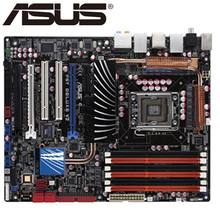 original motherboard for ASUS P6T Deluxe V2 LGA 1366 DDR3 24GB USB2.0 Core i7 CPU X58 Desktop motherborad  Free shipping