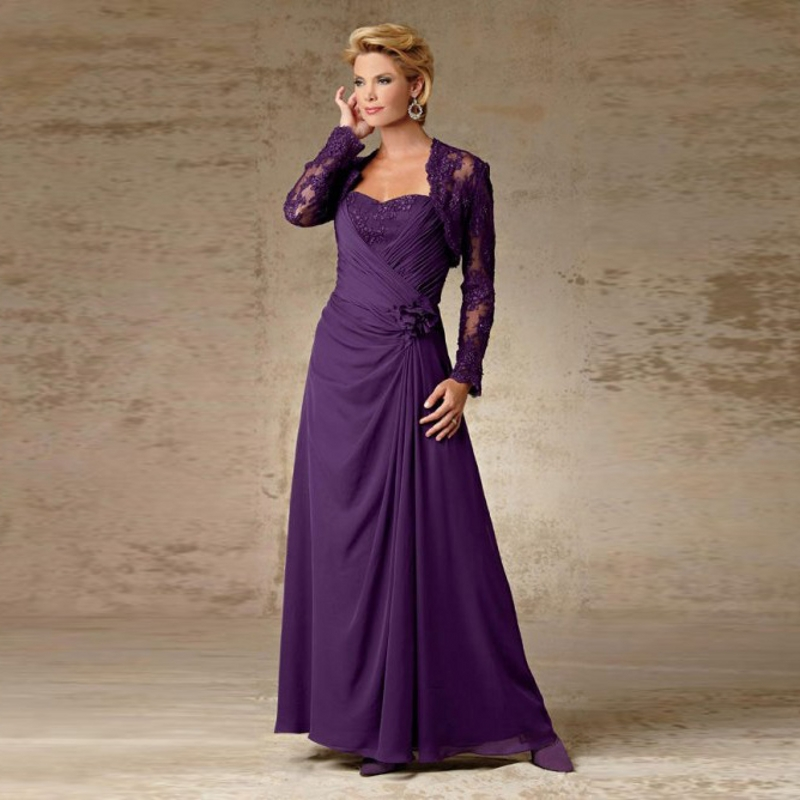 Purple Wedding Dresses And Suits : Popular ladies pants suits for weddings buy cheap