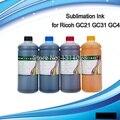 Encre façon 4*1000 ml encre de sublimation en bouteille spéciale pour GC21 GC31 GC41