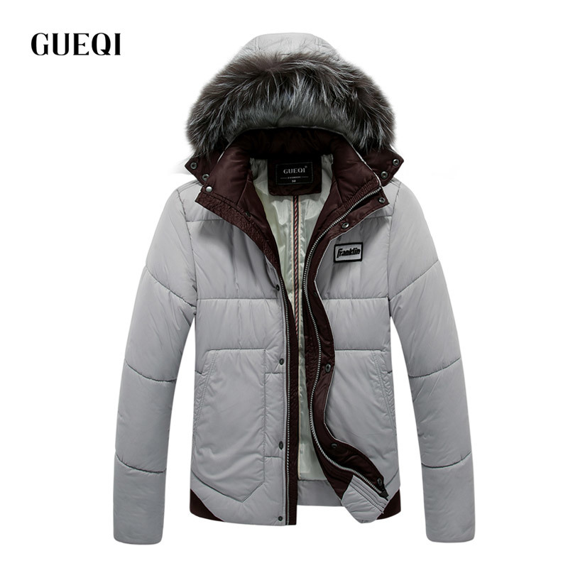 Подробнее о GUEQI 2017 Men New Winter Jacket Brand Clothing Warm Casual Solid Men's Popular Hooded Parkas For Male Jackets Outwear Coats 319 winter jacket men coats thick warm casual fur collar winter windproof hooded outwear men outwear parkas brand new