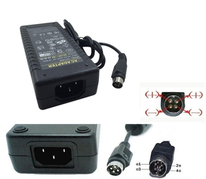 Image 5 - 12V6A 4 Pin  AC DC Adapter With IC Chip Switching Power Supply 12V 6A 72W For LCD TV Monitor Adapter Converter TV DVR Charger