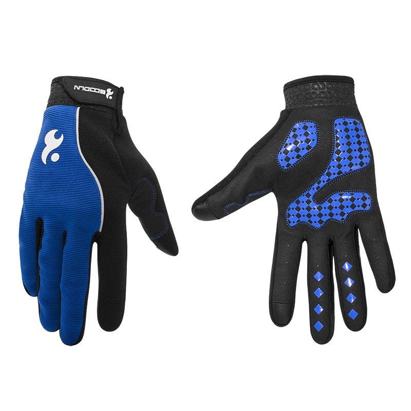 Men & Women Cycling Gloves Full Finger Screen Outdoor Bicycle Gloves - Cycling - Photo 4