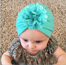 ON SALE 1PCS New arrival newborn photography props Bohemia Style Hollow Flower Baby Hat Cute Crochet Baby Beanie Cap