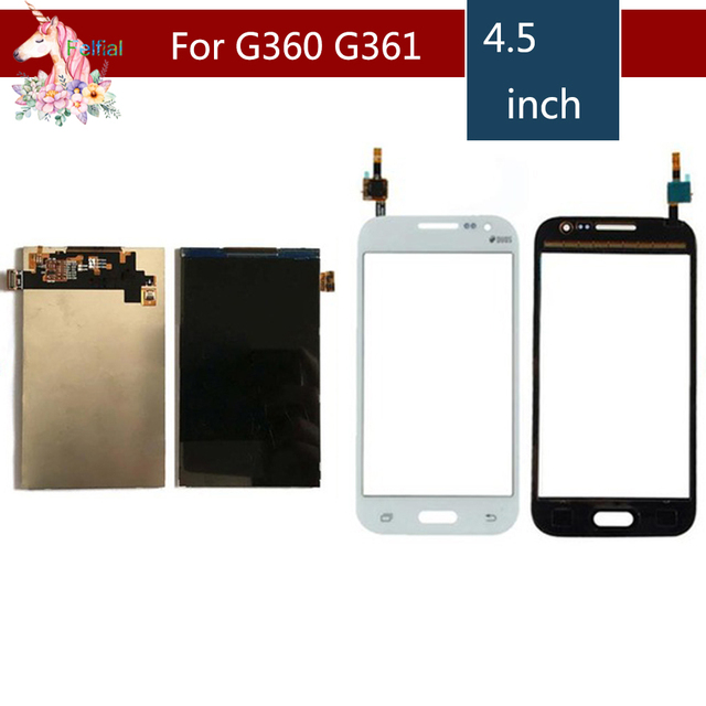 ORIGINAL For Samsung Galaxy Core Prime G360 G360H G361 G361H G361F G3608 LCD Display + Touch Screen Digitizer Sensor Replacement