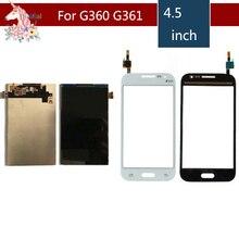 Originale per Samsung Galaxy Core Prime G360 G360H G361 G361H G361F G3608 Display Lcd + Touch Screen Digitizer Sostituzione Del Sensore