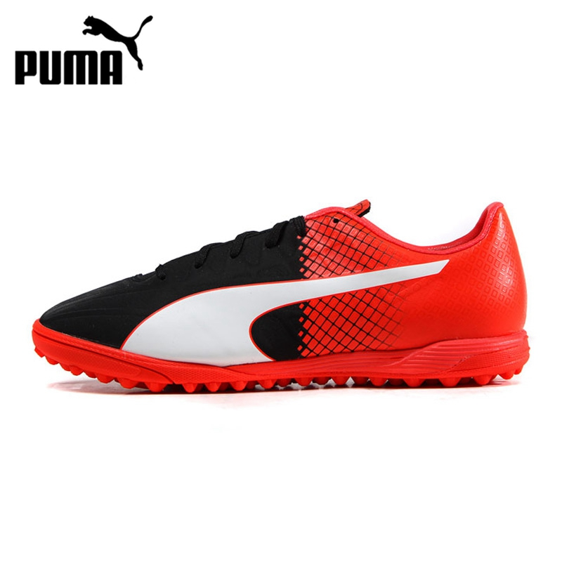 Original  PUMA  evoSPEED TT Men's Soccer Shoes Football Sneakers tiebao soccer sport shoes football training shoes slip resistant broken nail professional sports soccer shoes