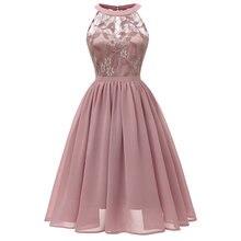 Женское кружевное платье из тюля элегантное плиссированное миди