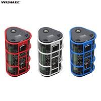 100% Original Wismec EXO SKELETON ES300 200W/300W Box Mod Powered by 2/3 18650 Cells