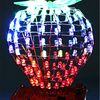 LED Cubic Ball DIY Kit RGB LED Light Cube Bluetooth Music Spectrum Cubic Ball Precise Remote