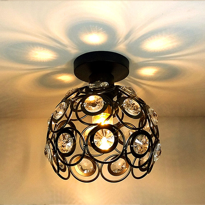 modern led ceiling lights for Hallway Ceiling Light Corridor creative Ceiling Lamp Entrance Balcony Room Black/White/gold vemma acrylic minimalist modern led ceiling lamps kitchen bathroom bedroom balcony corridor lamp lighting study