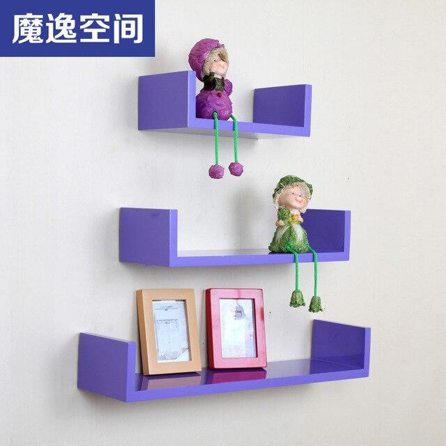 U gevormde plank boekenkast plank wand boekenkast ...