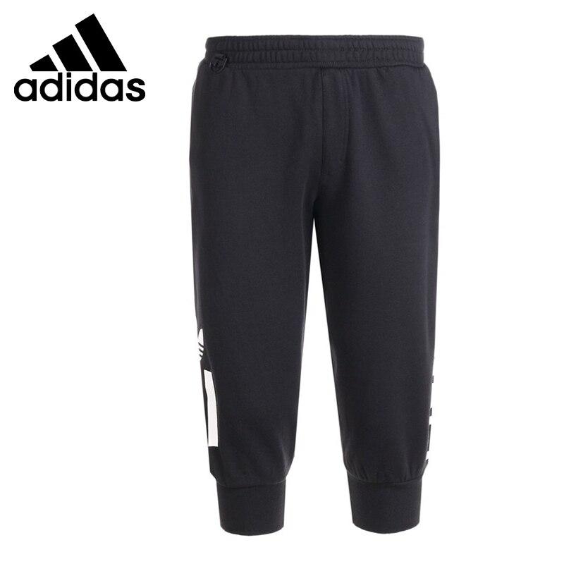 Original New Arrival  Adidas Originals 3/4 LOGO SWEAT Men's Shorts Sportswear