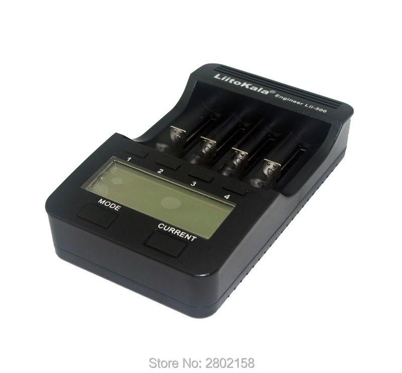 Liitokala Lii 500 NiMH battery charger 3 7 18650 18350 18500 17500 10440 26650 AA AAA