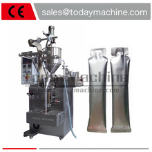 Automatic mineral water/milk/mustard oil/honey/juice/juse liquid plastic sachet small pouch bag Packaging machine Packer