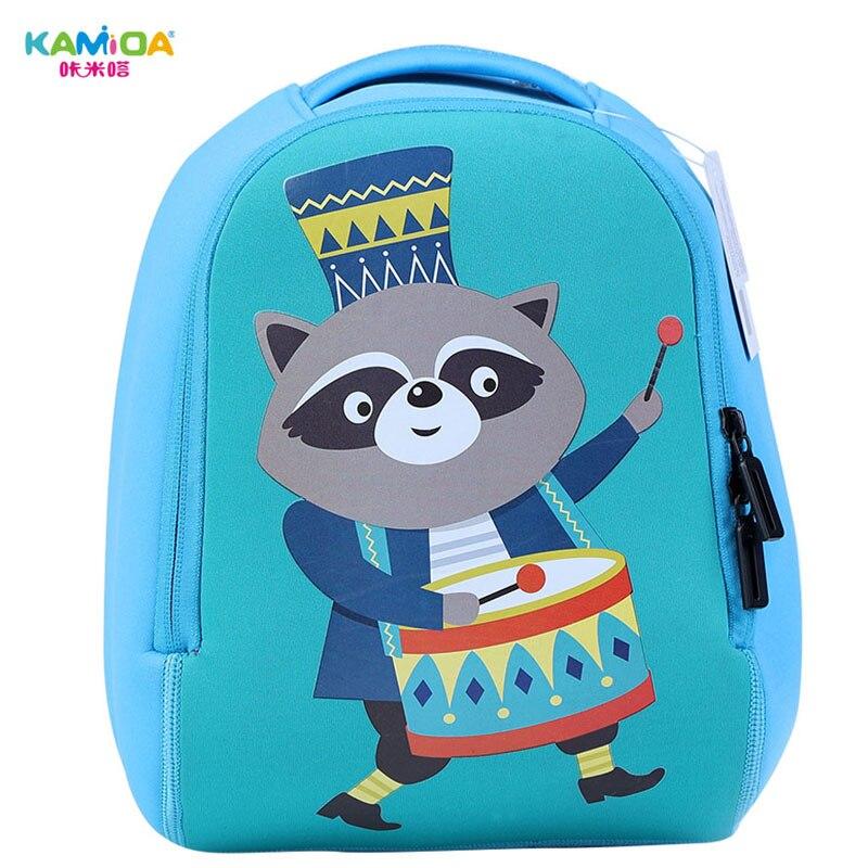 Small Panda Kindergarten Backpack 3D Childrens School Bag Super Light Weight Loss Cute Cartoon Animal Shape Printing Schoolbag