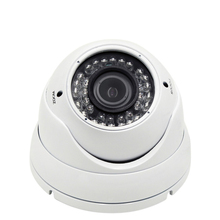 2MP Dome IP Camera 1080P 2.8-12mm Lens 4X Manual Zoom Metal Dome Vandal-proof 1080P HD Security CCTV POE Camera